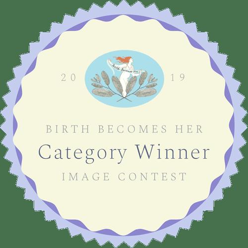 Gewinnerin Wettbewerb Geburtsfotografie Birth becomes her